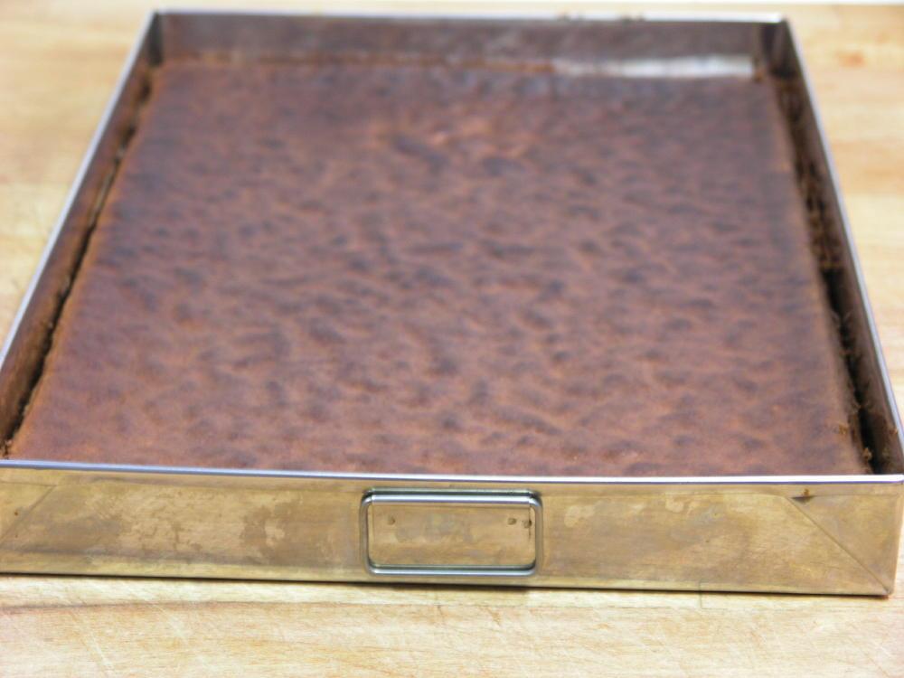 Base o planxa de Tarta Sacher