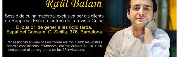 Classe magistral amb Ral Balam