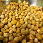 cigrons torrats amb curry i gingebre