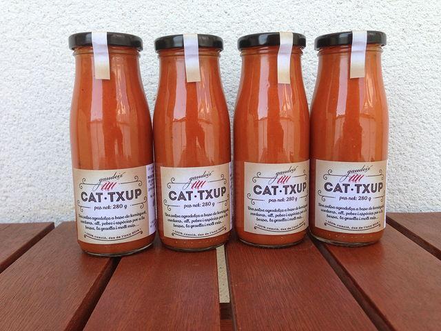 salsa de tomàquet Catxup