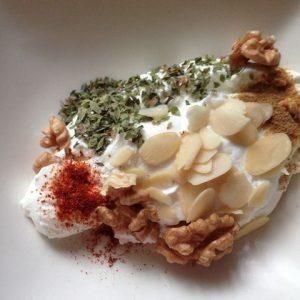 labneh, formatge iogur fet a casa