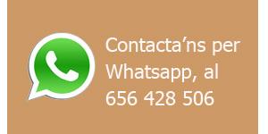 Contactar per Whatsapp amb Llepadits