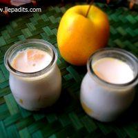 iogurt tarta tatin