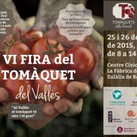 Fira del tomàquet 2015 Santa Eulàlia de Ronçana