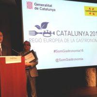 Catalunya regió Europea de la Gastronomia 2016