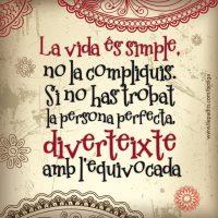 Cava del bon rotllo: La vida és simple