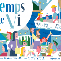 Fira Temps de vi 2017 a Vilanova i la Geltrú