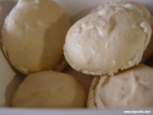 Galetes de llimona, macarons citron