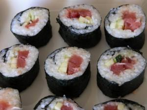 Maki sushi no moriawase