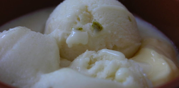 Gelat de pera a l'aroma de llima