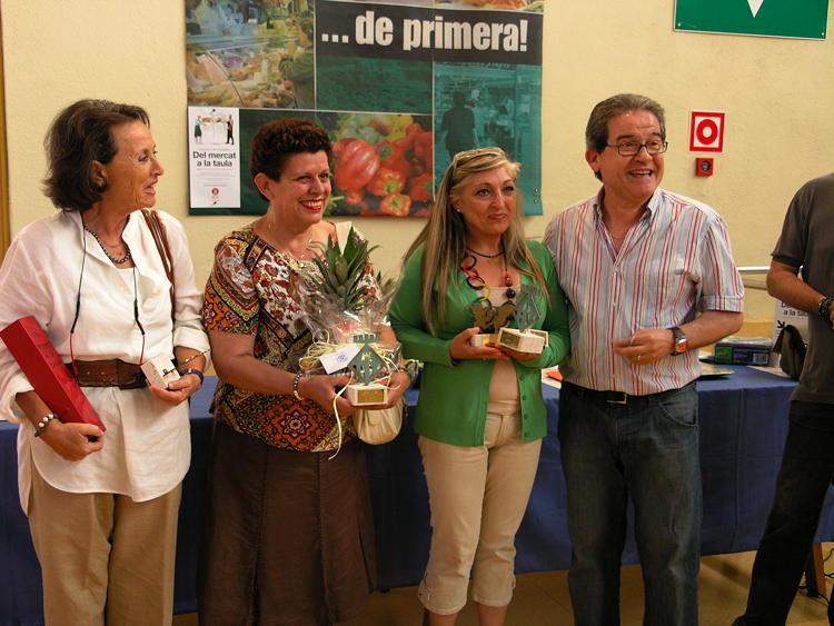 Carme Arce, guanya 3 premis al concurs del Mercat a la Taula
