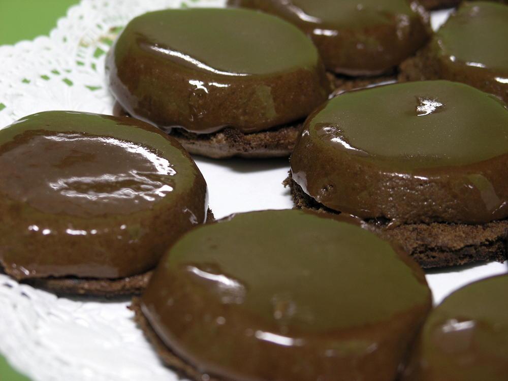 cúpula de xocolata amb mousse