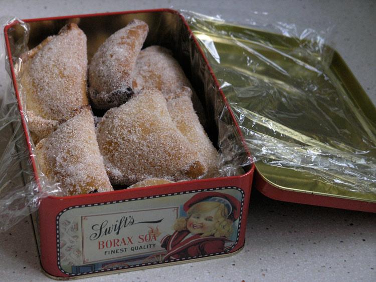pastissets de Tortosa farcits de cabell d'àngel