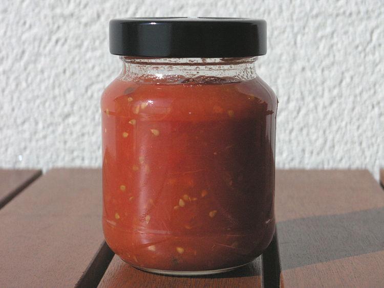 melmelada de tomàquet sense sucre