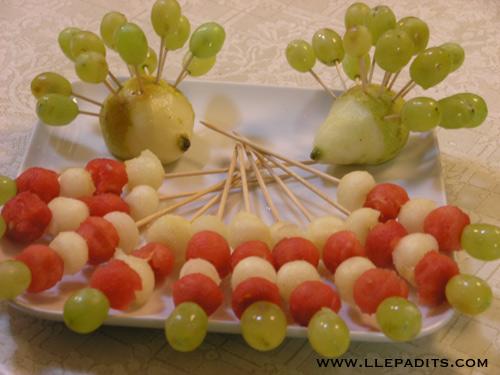 pica pica de fruita