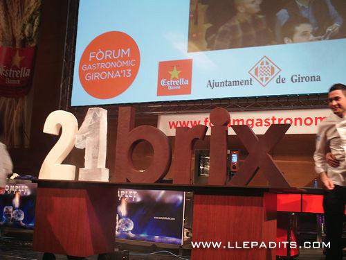 colectivo 21 brix al Forum Gastronòmic de Girona 2013