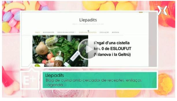 Llepadits al programa Efectes Positius de La Xarxa (XTVL)