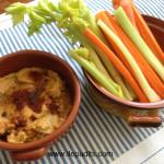 hummus amb dips de verdures