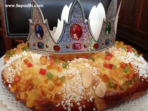 tortell de reis recepta de David de Jorge (Robin Food) i Iban Yarza