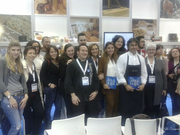 blocaires després del Show cooking