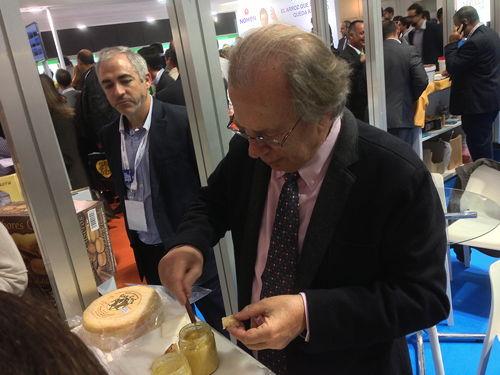 Sabor a Málaga - formatge de cabra amb oli