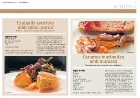Llepadits i les receptes de moniato al Diari Ara