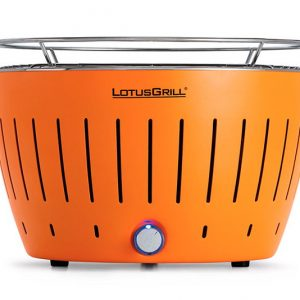 lotus grill barbacoa sense fum color mandarina