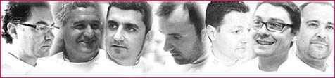 siete de Paco Torreblanca, Oriol Balaguer, Jordi Pujol, Ramon Morató, Carles Mampel, Miguel Sierra, Jacob Torreblanca