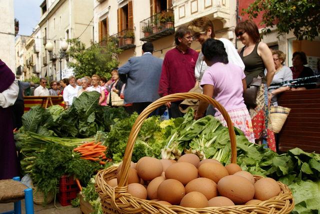 mercat noucentista a Vilanova i La Geltrú