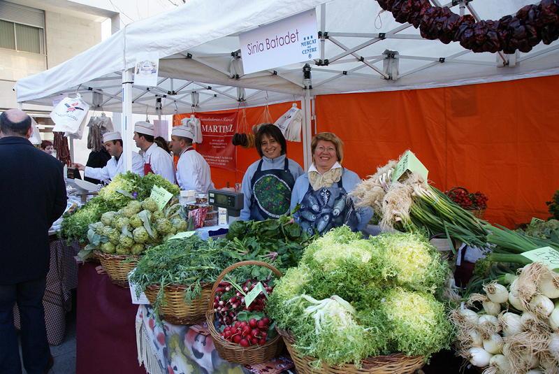 concurs xato parades al mercat de Vilanova