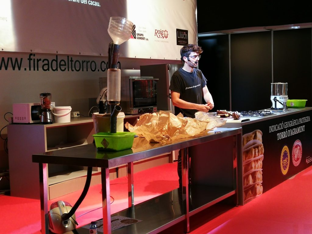 showcooking fira del torró d'Agramunt