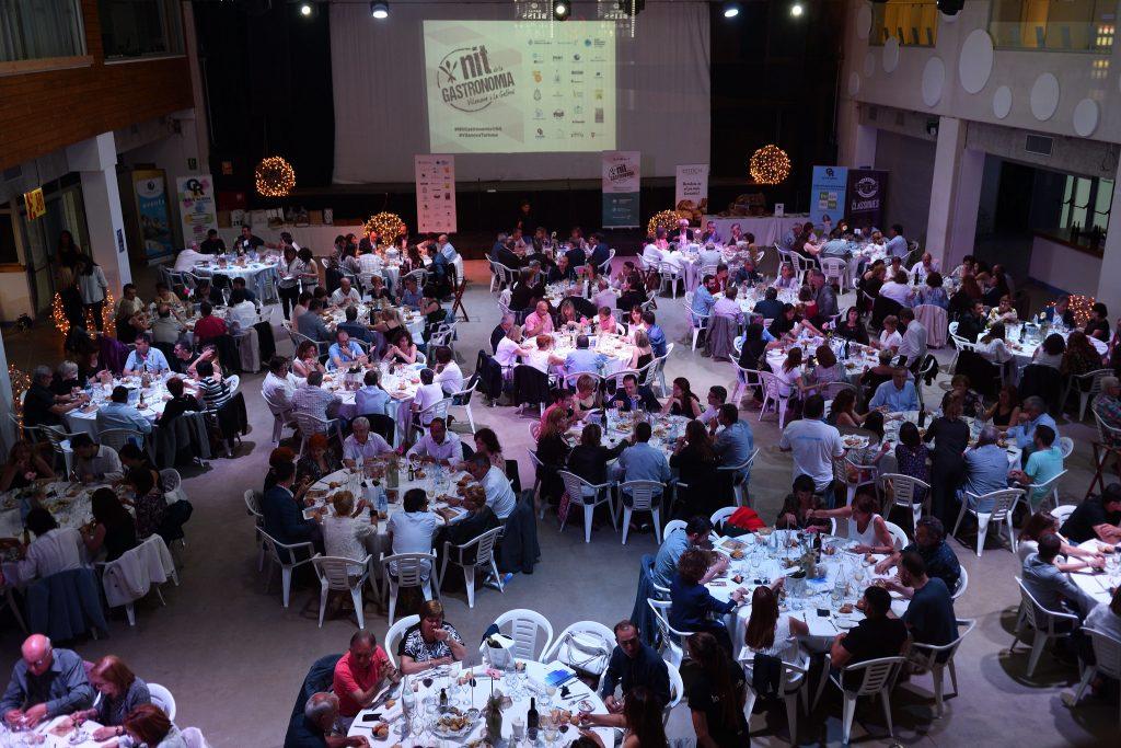 sopar Nit de la Gastronomia a Vilanova i la Geltrú